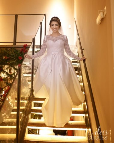 Atelier White Dress para Marina Paiva
